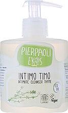 Düfte, Parfümerie und Kosmetik Antibakterielle Intimwaschlotion mit Thymianextrakt - Ekos Personal Care Thyme Intimate Cleanser (mit Spender)