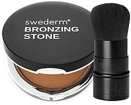 Düfte, Parfümerie und Kosmetik Make-up Set - Swederm (Bronzierpuder 13g + Puderpinsel 1 St.)