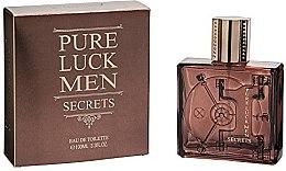 Düfte, Parfümerie und Kosmetik Linn Young Pure Luck Men Secrets - Eau de Toilette