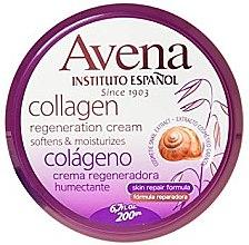 Düfte, Parfümerie und Kosmetik Regenerierende, aufweichende und feuchtigkeitsspendende Körpercreme mit Kollagen - Instituto Espanol Avena Collagen Cream