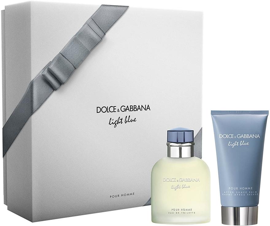 Dolce & Gabbana Light Blue Pour Homme - Duftset (Eau de Toilette 75ml + After Shave Balsam 75ml)