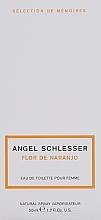 Angel Schlesser Flor de Naranjo - Eau de Toilette — Bild N4