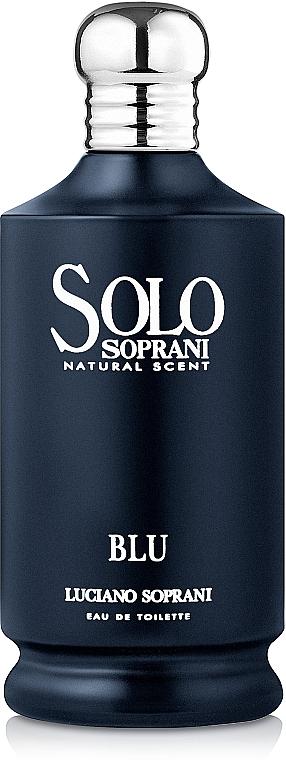 Luciano Soprani Solo Soprani Blu - Eau de Toilette — Bild N1