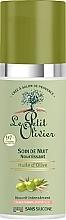 Düfte, Parfümerie und Kosmetik Pflegende Nachtcreme mit Olivenöl, Aloe Vera und Vitamin E - Le Petit Olivier Face Cares With Olive Oil