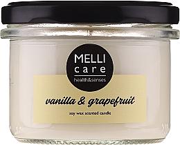 Düfte, Parfümerie und Kosmetik Duftkerze Vanille & Grapefruit - Melli Care Vanilla & Grapefruit Soy Wax Scented Candle