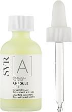 Düfte, Parfümerie und Kosmetik Glättendes Anti-Falten Lifting-Gesichtskonzentrat mit Vitamin A und Retinol - SVR [A] Ampoule Lift Smoothing Concentrate