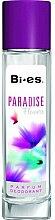 Düfte, Parfümerie und Kosmetik Bi-Es Paradise Flowers - Deodorant