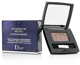 Düfte, Parfümerie und Kosmetik Lidschatten - Christian Dior Diorshow Mono Lustrous Smoky