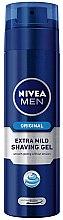 Düfte, Parfümerie und Kosmetik Extra sanftes Rasiergel - Nivea Original Extra Mild Shaving Gel