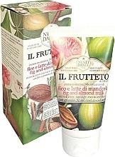 Düfte, Parfümerie und Kosmetik Regenerierende Körper- und Gesichtscreme mit Ceramiden, Feige und süßem Mandelprotein - Nesti Dante Il Frutteto Fig And Almond Milk