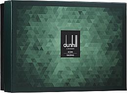 Düfte, Parfümerie und Kosmetik Alfred Dunhill Icon Racing Gift Set For Men - Duftset (Eau de Parfum 100ml + After Shave Balsam 90ml + Duschgel 90ml + Kosmetiktasche)