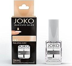 Düfte, Parfümerie und Kosmetik 3in1 Nagelconditioner - Joko Manicure Salon 3 in 1 Top