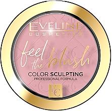 Düfte, Parfümerie und Kosmetik Gesichtsrouge - Eveline Cosmetics Feel The Blush