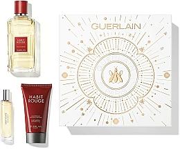 Düfte, Parfümerie und Kosmetik Guerlain Habit Rouge - Duftset (Eau de Toilette 100ml + Duschgel 75ml + Eau de Toilette 10ml)