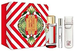 Düfte, Parfümerie und Kosmetik Carolina Herrera CH L`Eau - Duftset (Eau de Toilette/100ml + Eau de toilette/10ml + Beutel)