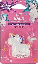 Düfte, Parfümerie und Kosmetik Lippenbalsam für Kinder mit Marshmallow-Duft Einhorn - Chlapu Chlap Lip Balm