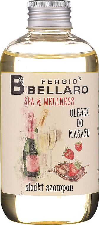 Massageöl mit Vitamin E und Arganöl - Fergio Bellaro Massage Oil Sweet Champagne
