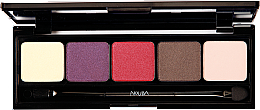 Düfte, Parfümerie und Kosmetik Lidschattenpalette - Nouba Unconventional Palette Eyeshadow