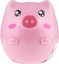 """Düfte, Parfümerie und Kosmetik Lippenbalsam """"Pig"""" mit Pfirsichextrakt - Martinelia Pig & Panda Lip Balm Peach"""