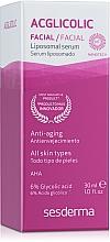 Düfte, Parfümerie und Kosmetik Anti-Aging Gesichtsserum mit Liposomen - SesDerma Laboratories Acglicolic Liposomal Serum