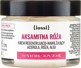Düfte, Parfümerie und Kosmetik Regenerierende und feuchtigkeitsspendende Gesichtscreme mit Acerola, Rose und Algen - Iossi Regenerating Cream