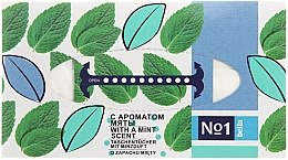 Düfte, Parfümerie und Kosmetik Trockene Kosmetiktücher mit Minzduft - Bella Mint Wipes