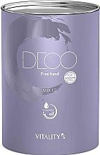 Düfte, Parfümerie und Kosmetik Blondierpulver - Vitality's Deco Free Hand