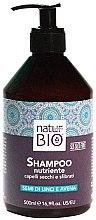 Düfte, Parfümerie und Kosmetik Nährendes Shampoo mit Leinsamen und Hafer - Renee Blanche Natur Green Bio Nutriente Shampoo