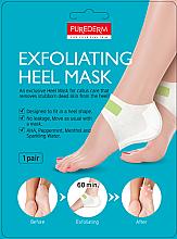 Düfte, Parfümerie und Kosmetik Peelingmaske für rissige Fersen - Purederm Exfolaiting Heel Mask