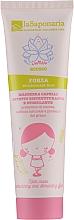 Düfte, Parfümerie und Kosmetik Restrukturierende und stimulierende Haarmaske mit Anti-Frizz-Wirkung - La Saponaria