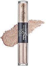 Düfte, Parfümerie und Kosmetik Duo-Lidschatten - Touch in Sol Metallist Liquid Foil & Glitter Eye Shadow Duo