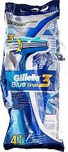 Düfte, Parfümerie und Kosmetik Einwegrasierer 4 St. - Gillette Blue 3 Simple