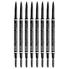 Düfte, Parfümerie und Kosmetik Augenbrauenstift - NYX Professional Makeup Micro Brow Pencil