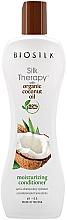 Düfte, Parfümerie und Kosmetik Feuchtigkeitsspendender Conditioner mit Kokosnussöl - Biosilk Silk Therapy Coconut Oil Moisture Conditioner