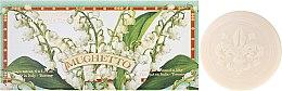 Düfte, Parfümerie und Kosmetik Maiglöckchen Seifen-Set 6 St. - Saponificio Artigianale Fiorentino Lily Of The Valley (Soap/6x50g)