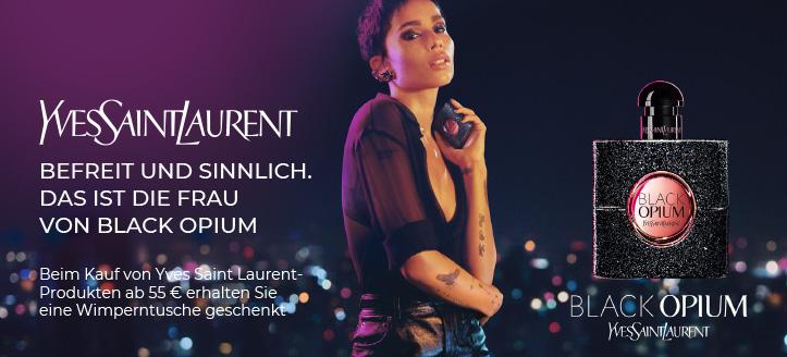Beim Kauf von Yves Saint Laurent-Produkten ab 55 € erhalten Sie eine Wimperntusche Im The Clash geschenkt