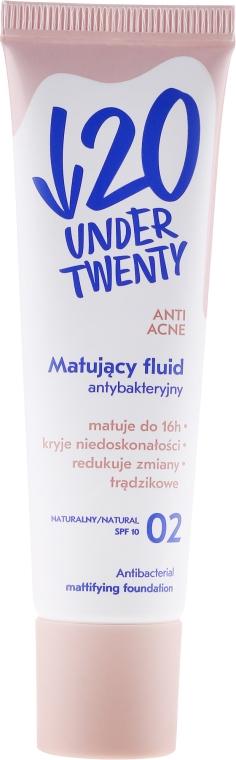 Mattierendes Gesichtsfluid gegen Akne - Under Twenty Anti! Acne