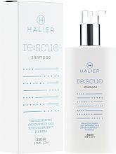 Düfte, Parfümerie und Kosmetik Regenerierendes Shampoo für trockenes und geschädigtes Haar - Halier Re:scue Shampoo