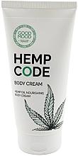 Düfte, Parfümerie und Kosmetik Pflegende Körpercreme für trockene Haut mit Hanföl - Good Mood Hemp Code Body Cream