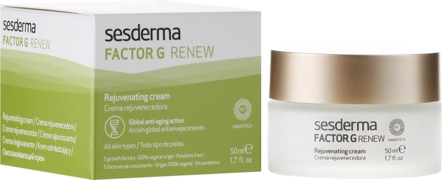 Regenerierende Anti-Aging Creme für alle Hauttypen - SesDerma Laboratories Factor G Anti-Aging Regenerating Facial Cream — Bild N1
