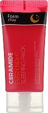 Düfte, Parfümerie und Kosmetik Nachtmaske für das Gesicht mit Ceramiden - FarmStay Ceramide Every Night Sleeping Pack