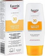 Düfte, Parfümerie und Kosmetik Sonnenschutzende Körperlotion für empfindliche Haut SPF 30 - Eucerin Sun Protection Lotion Extra Light SPF30