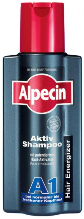 Shampoo für normale bis trockene Kopfhaut - Alpecin A1 Active Shampoo — Bild N1