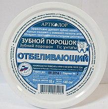 Düfte, Parfümerie und Kosmetik Aufhellendes Zahnpulver - Artcolor
