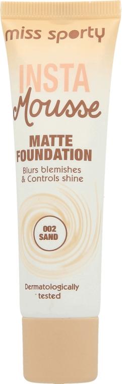 Mattierende Foundation - Miss Sporty Insta Mousse Matte Foundation
