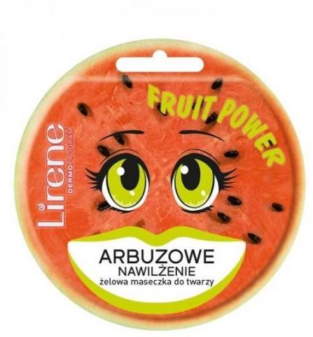 Peeling-Gesichtsmaske Wassermelone - Lirene Fruit Power