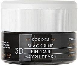 Düfte, Parfümerie und Kosmetik Straffende und festigende Anti-Aging Nachtcreme mit Schwarzkiefer - Korres Black Pine 3D Scuplting Firming and Lifting Night Cream