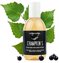 Düfte, Parfümerie und Kosmetik Gel-Shampoo mit Johannisbeere und Birkenknospen für Männer - Uoga Uoga Shampoo-Shower Gel