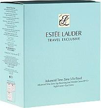 Düfte, Parfümerie und Kosmetik Estee Lauder Advanced Time Zone Travel Set - Gesichtspflegeset (Augencreme 15ml + Tagescreme 50ml + Nachtcreme 50ml)
