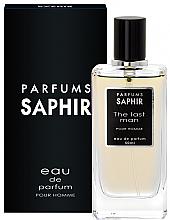 Düfte, Parfümerie und Kosmetik Saphir Parfums The Last Man - Eau de Parfum